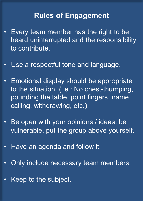 Increase employee engagement using rules of engagement pronofoot35fo Images