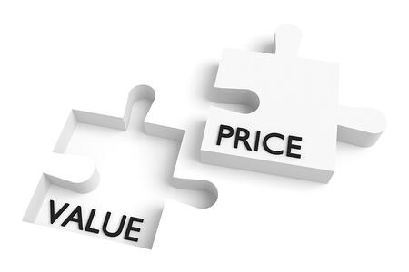 Few salespeople understand price is what you pay and value is what you get