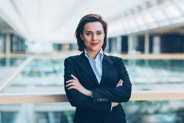 Smart female CEO who measures mindset on her sales team using sales personality & aptitude tests