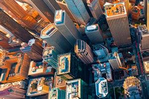 aerial-cityscape