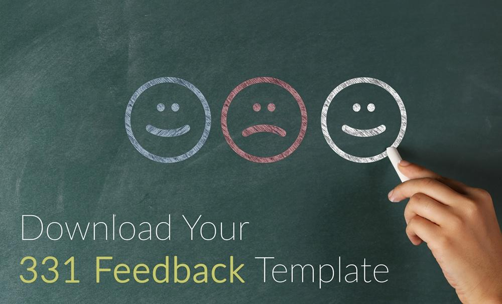 Download your 331 salesperson feedback and coaching template